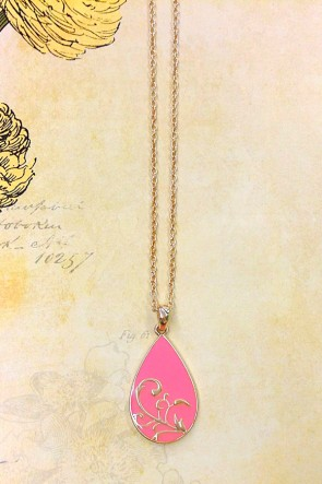 Pink Vines Necklace