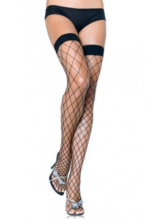 Leg Avenue Fencenet Thigh Highs (9014)