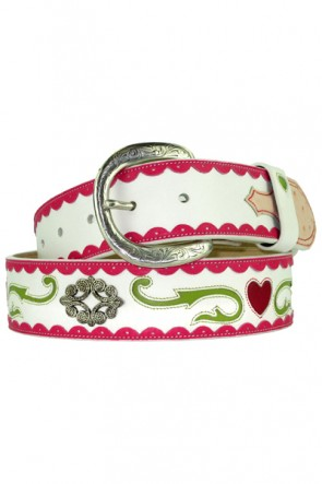 Bill Adler Design Hearts Belt