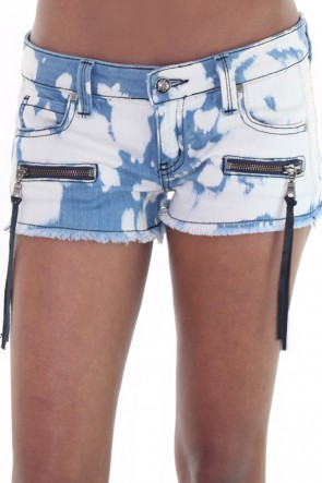 Frankie B Battlefield Short in Blue Odyssey