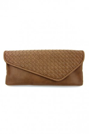 Dreamweaver Clutch - Brown
