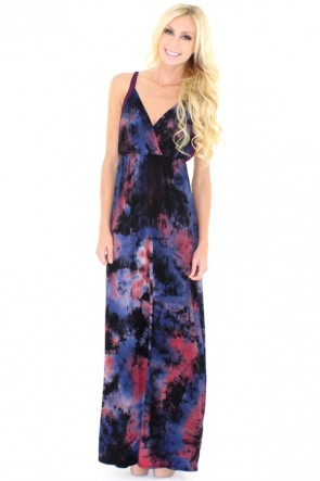 Harmony Tye Dye Maxi Dress