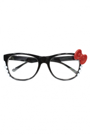 Purfect Kitty Clear Glasses in Black