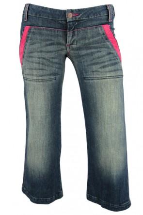 Huzzi Gaucho Pant in Pink
