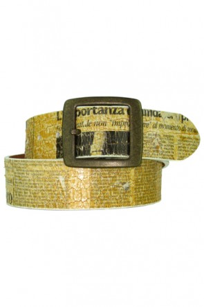 Bill Adler Design Newspaper Belt
