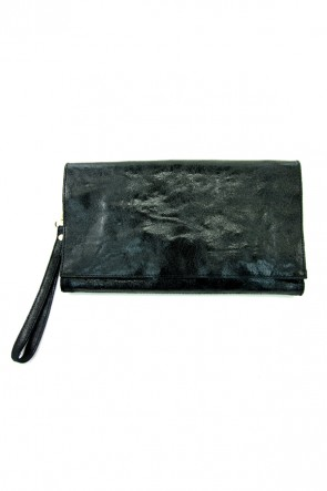 Shimmer Clutch in Onyx