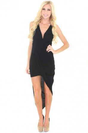 Slow Motion Dress - Black