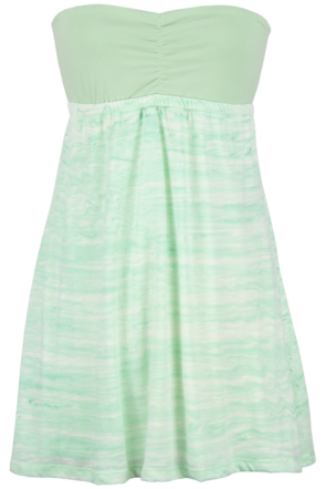 Lost Strands Tube Dress in Seafoam